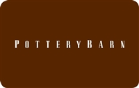 Pottery Barn Variable Gift Card