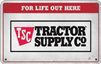Tractor Supply Company - Variable Card